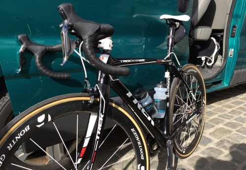 I also went to Flanders Pro race in Belgium where I rode this on the Flanders citizen race...