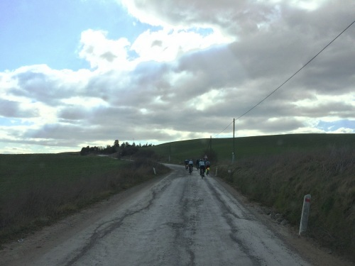 Amazingly beautiful scenery punctuated with cold and wind and gravel roads.