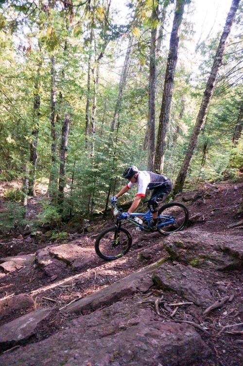 Copper Harbor MTB Enduro.  88.89% fun.