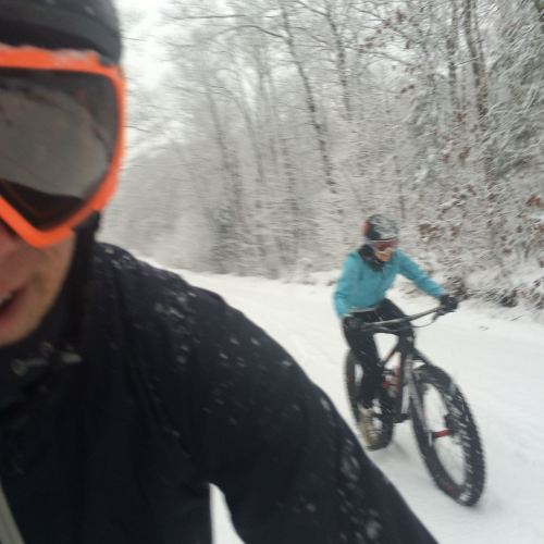 To massive snow rides in Northern Wisconsin.